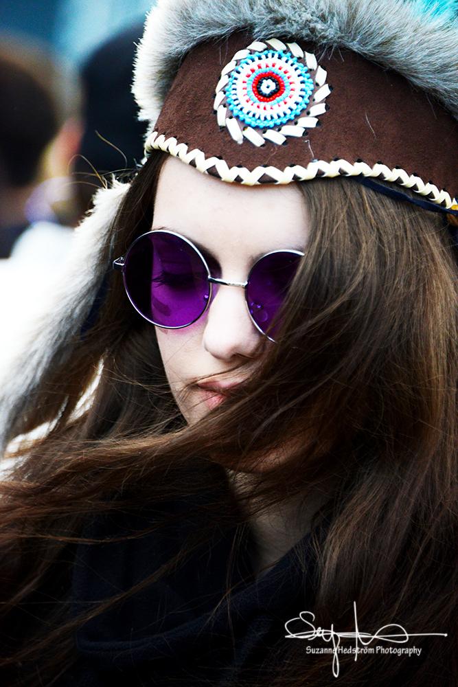 Hippe Girl